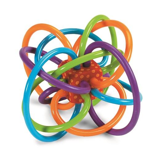 【中亚Prime会员】Manhattan Toy Winkel 牙胶活动玩具
