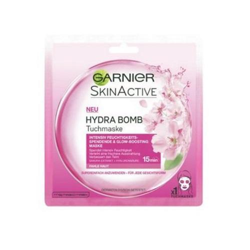 【9折+立减5欧】Garnier 卡尼尔 Hydra Bomb 天然樱花玻尿酸面膜 1片