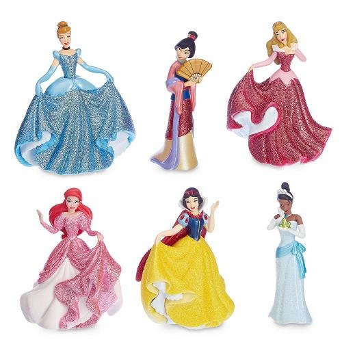 【黑五第二波】双重优惠!Disney 迪士尼:迪士尼公主系列手办套装