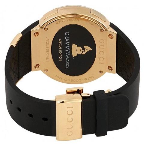 Gucci 古驰 I-Gucci系列 YA114217 男士手表 格莱美音乐奖特别款