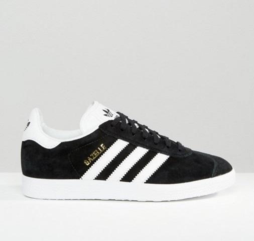 超模、博主同款 Adidas 阿迪达斯 Gazelle 麂皮复古板鞋