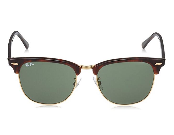 【中亚Prime会员】Ray-Ban 雷朋 Clubmaster RB3016F 中性玳瑁色太阳眼镜 W0366