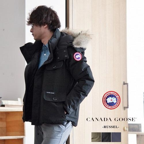 周五指定信用卡最高20%积分!【日本乐天国际】Canada Goose 防寒羽绒服 RUSSELL PARKA