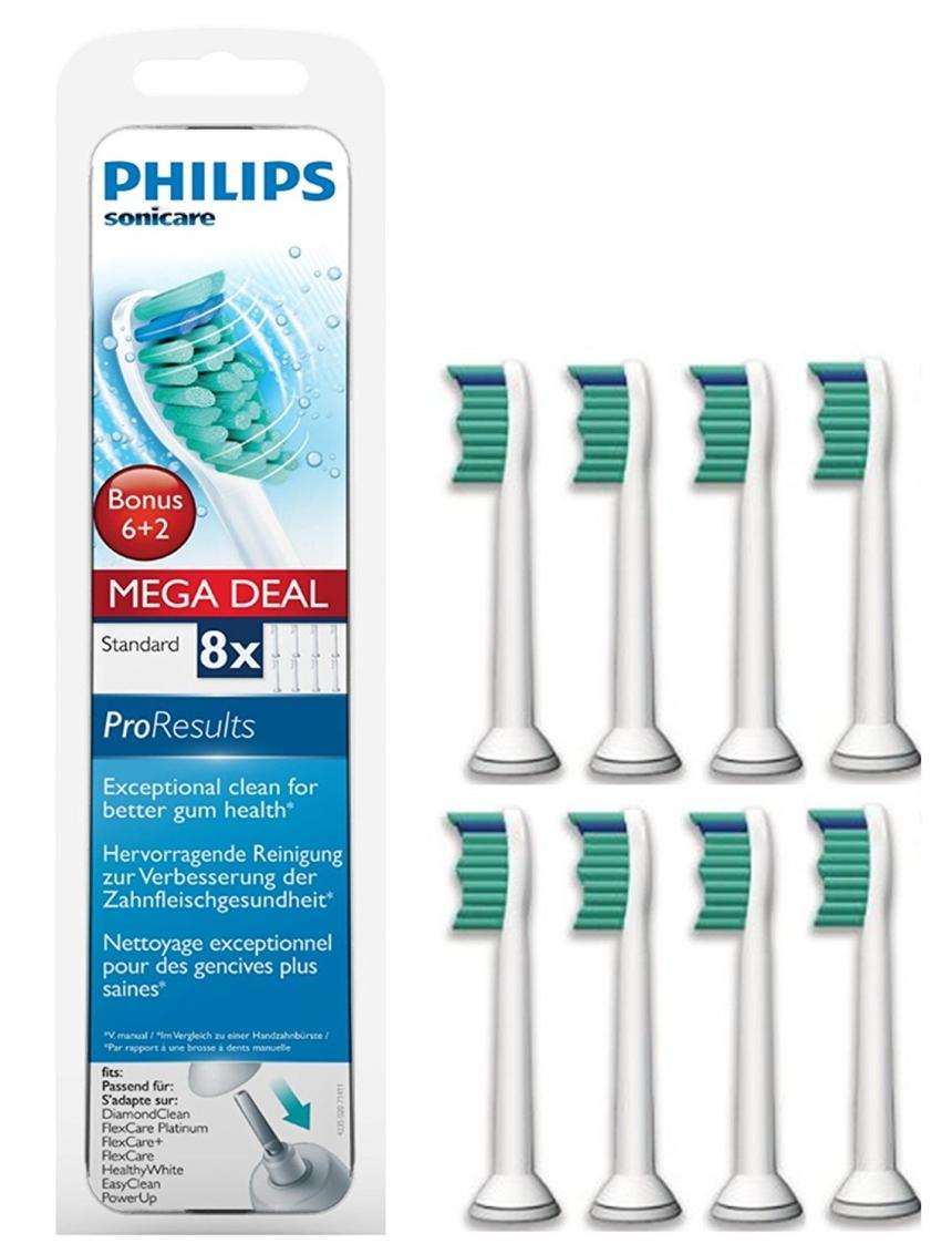 【中亚Prime会员】Philips 飞利浦 Sonicare HX6018/07 电动牙刷刷头 8支装