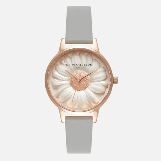【免费直邮中国】Olivia Burton  Flower Show 3D Daisy 女士小清新手表