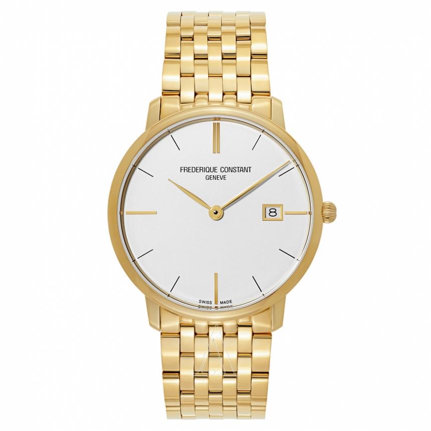 【55专享】Frederique Constant 康斯登 FC-220V5S5B 男士镀金时装手表