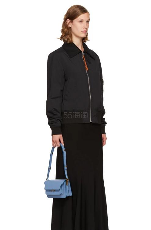 Marni Blue Small Trunk Bag 小号蓝色风琴包