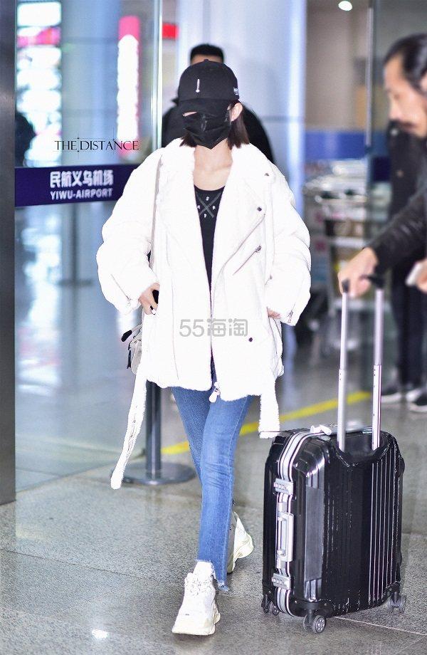 【赵丽颖、杨幂同款】女星最爱穿的 Rag & Bone 不规则破边牛仔裤