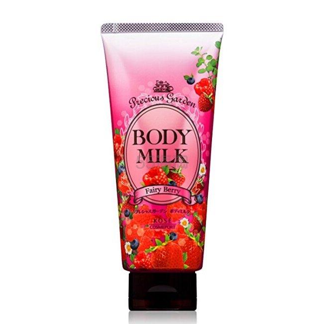 【中亚Prime会员】Kose 高丝 Precious Garden 珍贵花园 天然高保湿身体乳 浆果香味 200g