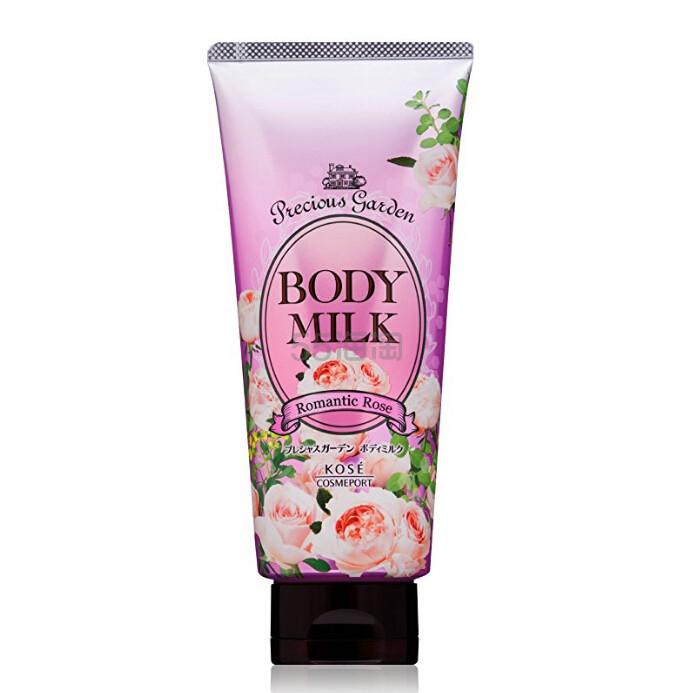 【中亚Prime会员】Kose 高丝 Precious Garden 珍贵花园 天然高保湿身体乳 玫瑰香味 200g