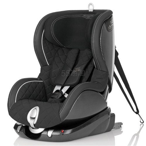 纯德国手工制作!全球限量500个!卖一个就少一个!Britax Römer Trifix 限量款黑色经典安全座椅