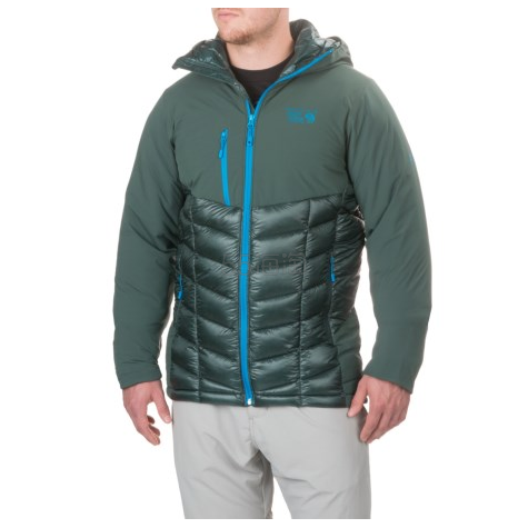 码全!Mountain Hardwear 山浩 Supercharger Insulated 男款羽绒服 4色选