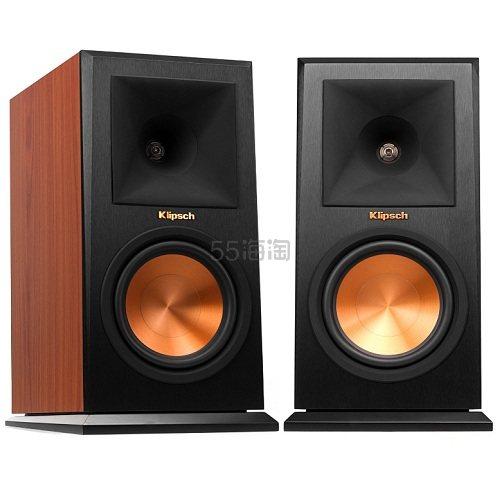 【中亚Prime会员】Klipsch 杰士 R-160M 书架扬声器/音箱套装(一对)
