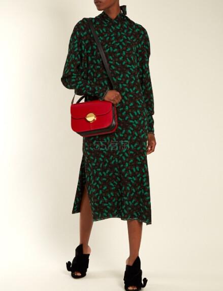 Marni Tuk medium tri-colour leather shoulder bag 拼色真皮包包