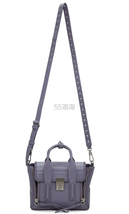 最后一只~3.1 Phillip Lim Purple Mini Pashli Satchel 紫色包包