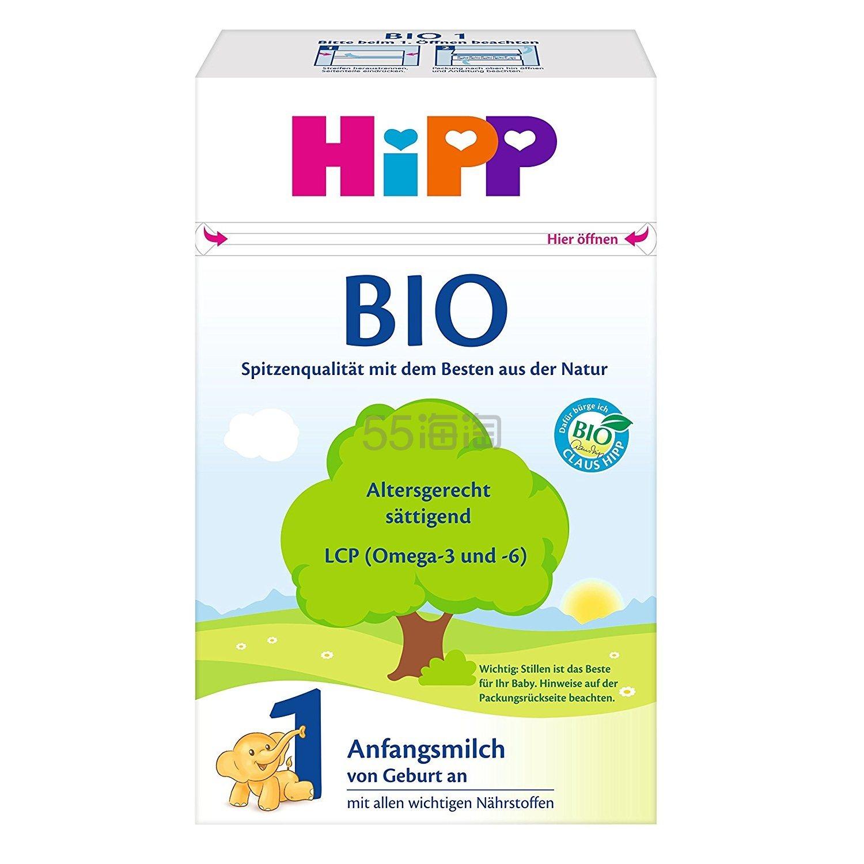 【55海淘节】中亚Prime会员~Hipp 喜宝 Combiotik 有机婴幼儿奶粉1段 0-6个月 600g*4盒装