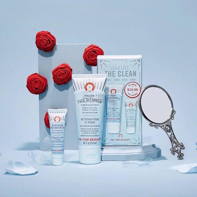 SkinStore:First Aid Beauty 急救美人 滋润保湿面霜等护肤品