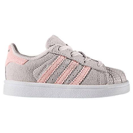 惊爆价 Adidas Originals 三叶草 Superstar 学步儿童运动鞋