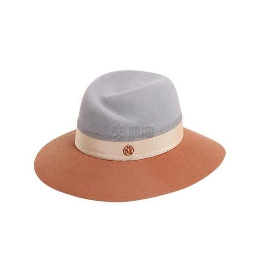 法国手工制作代表 Maison Michel 初剪羊毛拼色礼帽