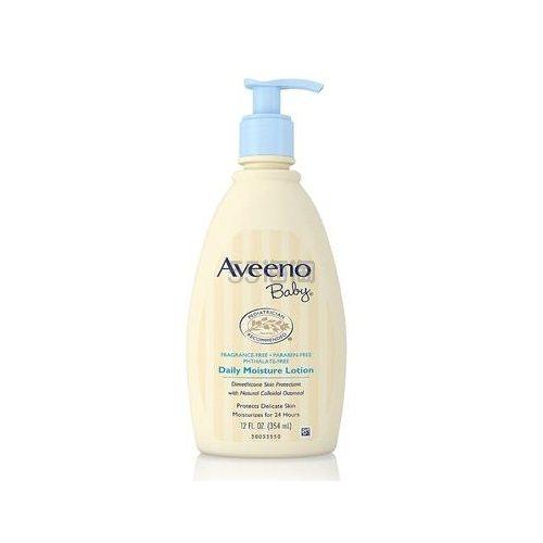【立减$5+免邮中国】Aveeno baby 艾维诺 婴儿燕麦日常安抚润肤保湿乳液 无香型 351ml