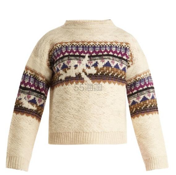 Isabel Marant Etoile Off-White Elsey Sweater 女款羊毛毛衣