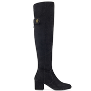 Nine West Queddy Tall Boots 女款麂皮高筒靴