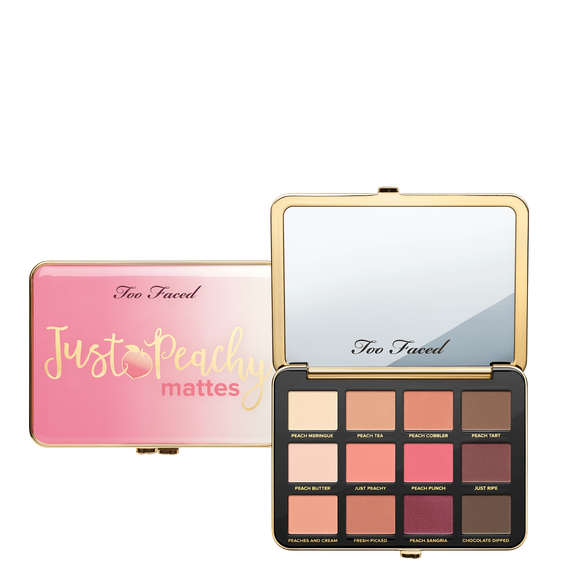 Too Faced 哑光桃子盘 12色眼影