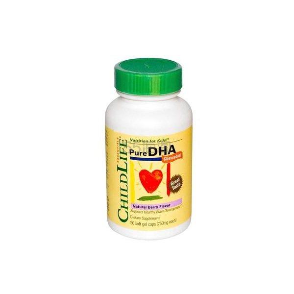 【立减$5+免邮中国】Childlife 童年时光 婴幼儿DHA软胶囊 90粒