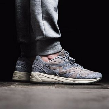 断码福利!Saucony 圣康尼 Originals Dirty Snow II Grid 8000 CL 男款复古跑鞋