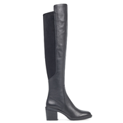 Nine West Nacissa Over-The-Knee Boots 黑色真皮过膝靴