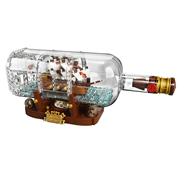 上新!LEGO 乐高 IDEAS系列 21313 Ship in a Bottle 瓶中船