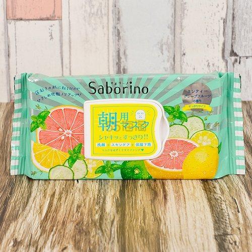 【9%高返+1000日元优惠券】Saborino 早安面膜西柚32片