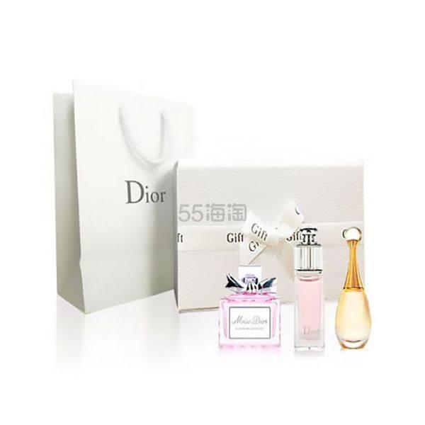 【免邮套装】Dior 迪奥真我+魅惑+花漾各 5ml*3瓶 ¥109 - 海淘优惠海淘折扣|55海淘网