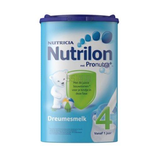 【立减3欧+免邮中国】Nutrilon 牛栏婴幼儿奶粉4段 1岁+ 800g
