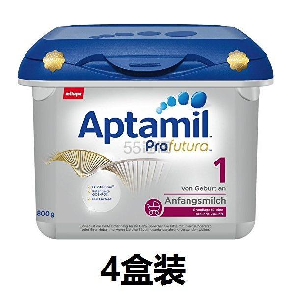 新到货!【中亚Prime会员】Aptamil 爱他美 白金版 婴儿配方奶粉 1段 800gx4盒装 到手价760元 - 海淘优惠海淘折扣|55海淘网