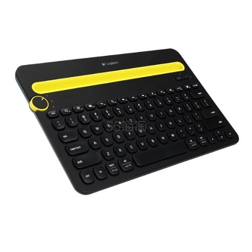 Logitech 罗技 K480 蓝牙键盘 一键旋转控制多平台 官翻版
