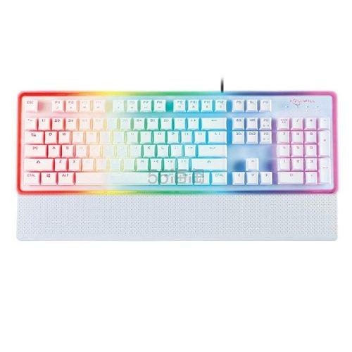 软妹必备!Rosewill 罗维 NEON K51 RGB 幻彩机械游戏键盘
