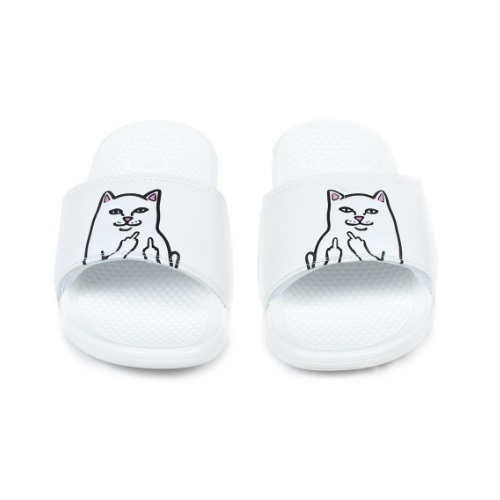 多色可选!Ripndip Lord Nermal Slide 中指猫咪潮流拖鞋