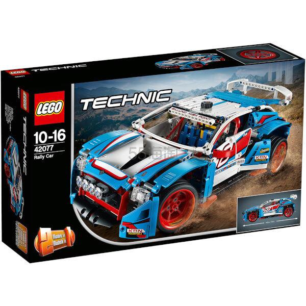 免邮中国!LEGO 乐高机械组拉力赛车 42077 £54.99(约487元) - 海淘优惠海淘折扣|55海淘网