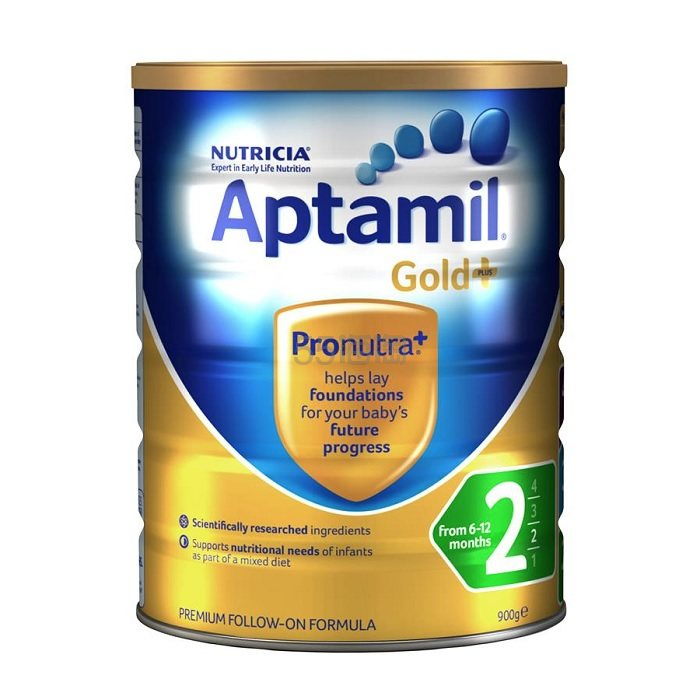 【55专享】Aptamil 爱他美 金装婴幼儿奶粉 2段 900g 24.69澳币(约126元) - 海淘优惠海淘折扣|55海淘网