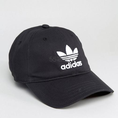 新低价!adidas Originals 阿迪达斯 三叶草 女士可调节棒球帽
