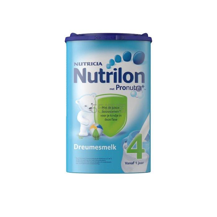 【立减3欧+免邮中国】Nutrilon 牛栏 婴幼儿标准配方奶粉 4段 1岁+ 800g