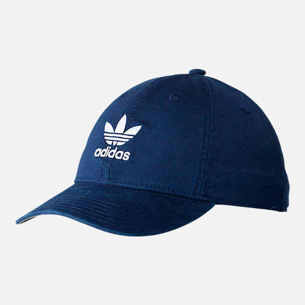 白菜价 ADIDAS ORIGINALS 三叶草 PRECURVED WASHED STRAPBACK 棒球帽