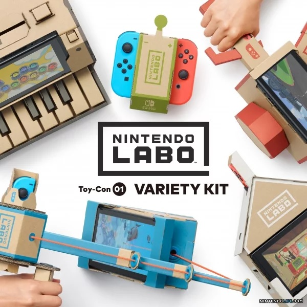 预售!【美亚直邮】Nintendo 任天堂 Switch Nintendo Labo