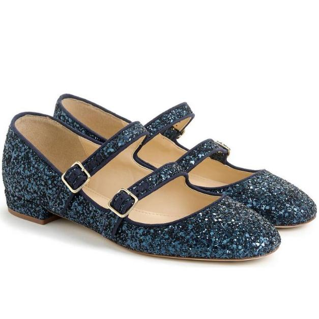 J.Crew Multistrap Mary Jane Flat 玛丽珍女鞋
