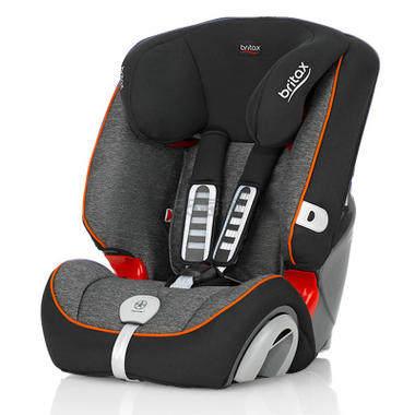 【直降15刀+免邮】Britax 宝得适汽车儿童安全座椅Evolva1-2-3 plus超级百变王 曜石黑