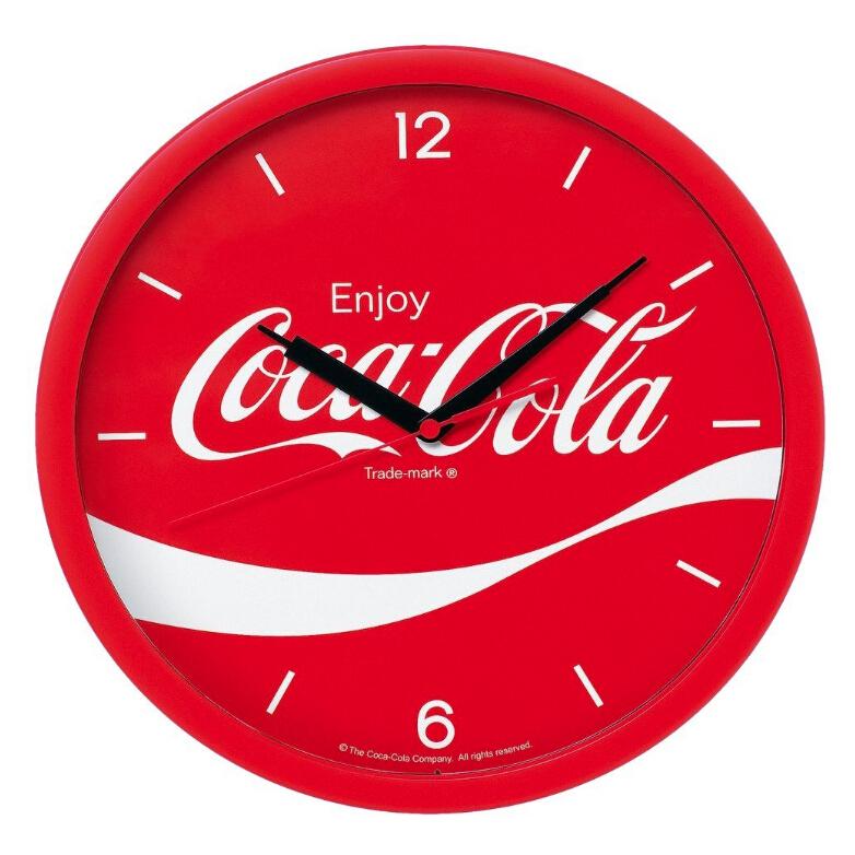 SEIKO 精工 X 可口可乐 Coca-Cola 时钟