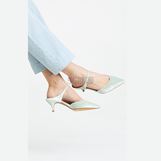 夏天的颜色!Tabitha Simmons Tabitha Simmons Liberty Velvet 穆勒浅口鞋