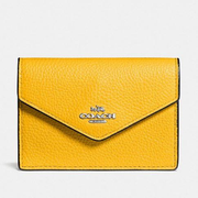 Coach Envelope Card Case 真皮卡包