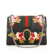 "Gucci Dionysus Rose-Embroidered 酒神皮革包包 <b style=""color:#ff7e00"">$2,940(约18,810元)</b>"